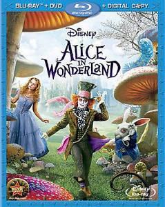 BLU-RAY MOVIE Blu-Ray ALICE IN WONDERLAND