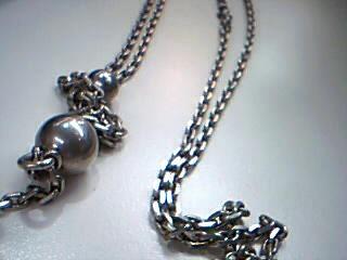 "32"" Silver Chain 925 Silver 38.5g"
