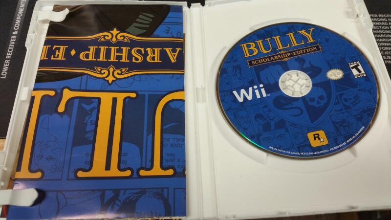 NINTENDO Nintendo Wii Game BULLY SCHOLARSHIP EDITION