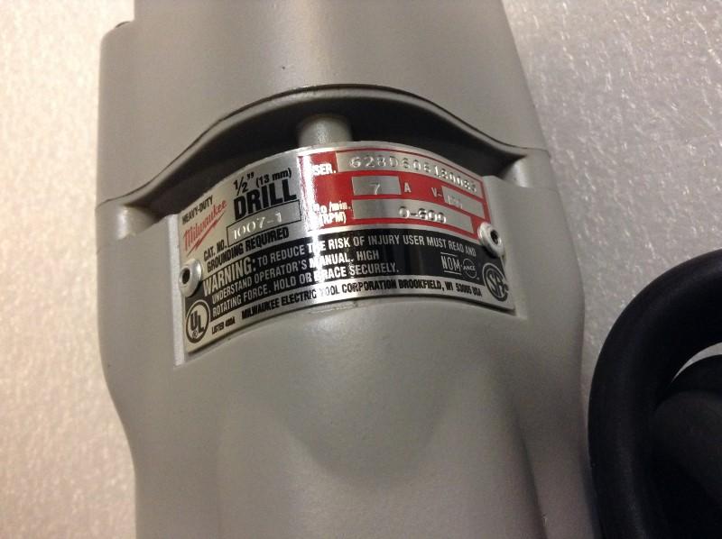 MILWAUKEE Cordless Drill 1007-1