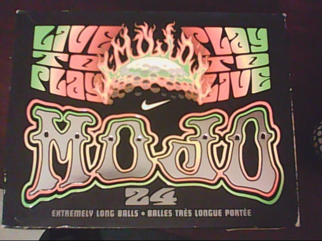 NIKE MOJO GOLF BALLS LOT PACK OF 20