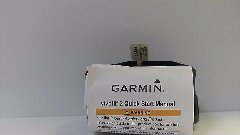 Black Garmin Vivofit 2 Bluetooth Activity Monitor Fitness Band Tracker