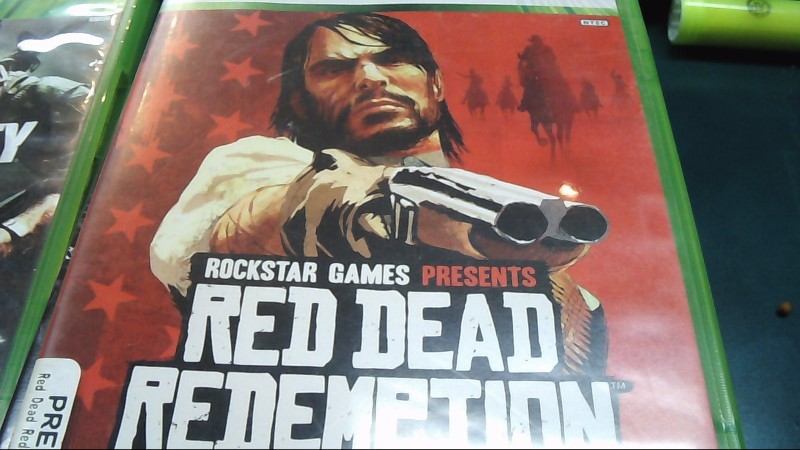 Microsoft XBOX 360 Game RED DEAD REDEMPTION Xbox One Compatible