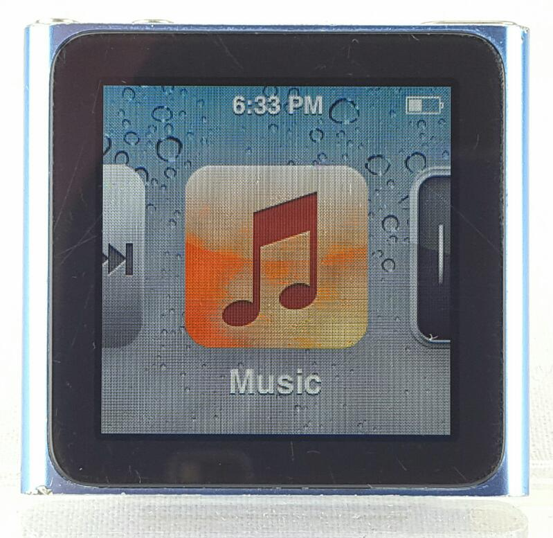 APPLE iPod Nano 8gb 6th Generation Blue MC689LL/A
