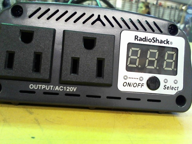 RADIO SHACK Car Audio 350W INVERTER