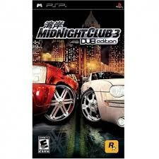 SONY Sony PSP Game MIDNIGHT CLUB 3: DUB EDITION PSP (2005)