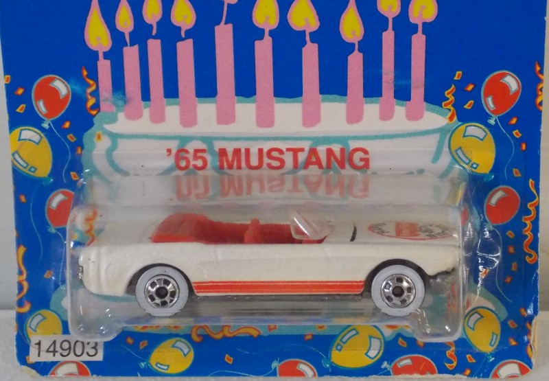 MATTEL HOT WHEELS, FISHER PRICE CELEBRATES 65 YEARS, 65' MUSTANG