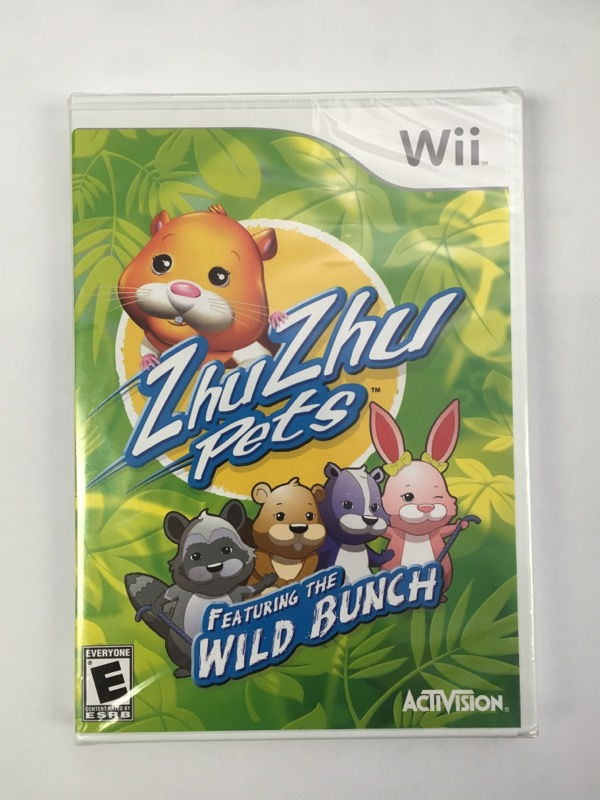 Zhu Zhu Pets: Featuring the Wild Bunch - (Nintendo Wii, 2010)
