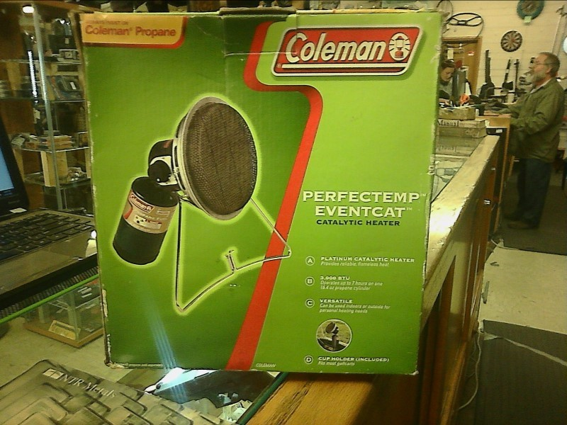 COLEMAN Camping PROPANE CATALYTIC HEATER