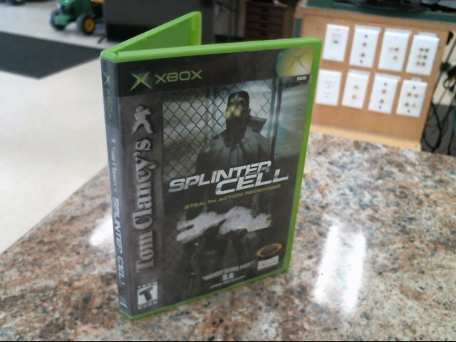 MICROSOFT Microsoft XBOX Game SPLINTER CELL