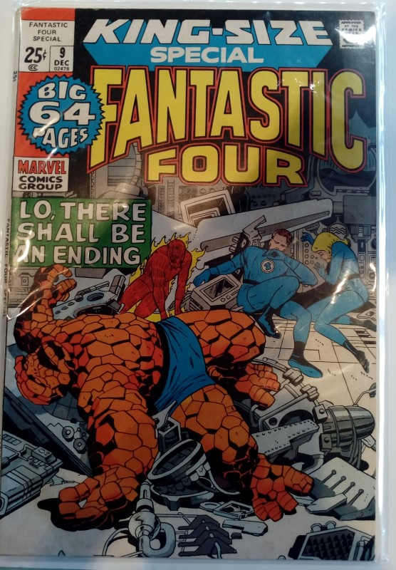 MARVEL COMICS FANTASTIC FOUR KING SIZE DEC 9 (1971)