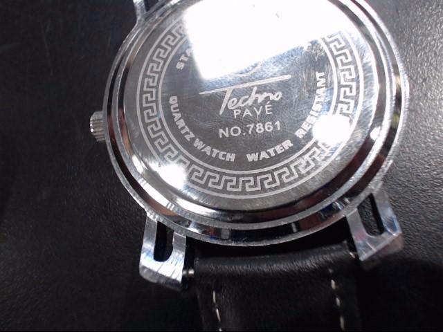 TECHNO PAVE Gent's Wristwatch WATCH