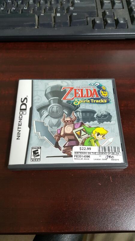 The Legend of Zelda: Spirit Tracks COMPLETE w/Case & Manual (Nintendo DS, 2010)