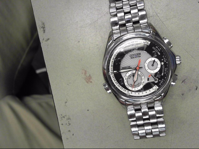 CITIZEN Gent's Wristwatch ECO DRIVE GN-4W-S-120
