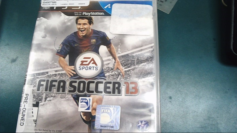 Sony PlayStation 3 Game FIFA SOCCER 13