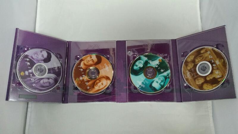 DVD BOX SET FRIENDS SEASON 5  4 DISC SET