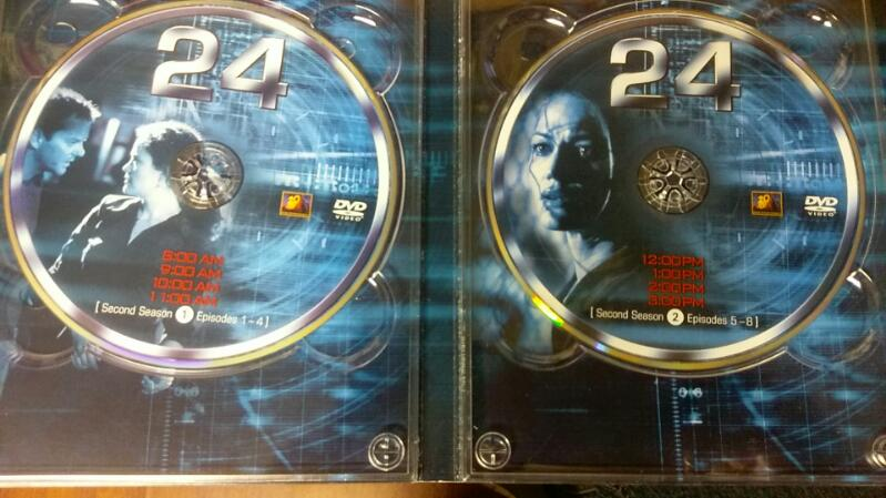 24 SEASON 2 - 7 DISK DVD SET