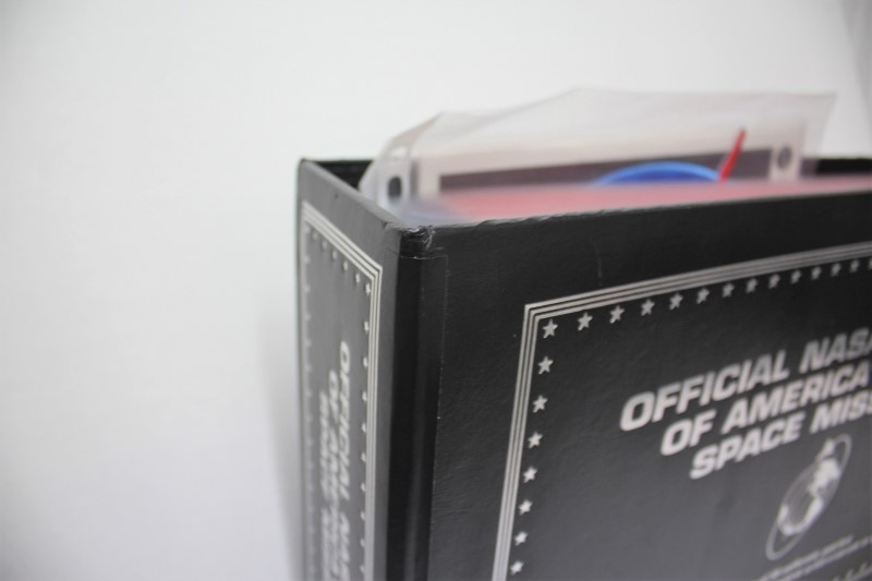 NASA Non-Fiction Book APOLLO PATCH SET