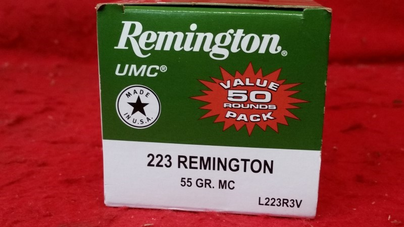 Remington 223Rem 55gr MC - #L223R3V