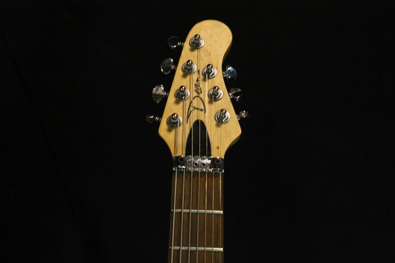 Dean 7-String Electric Guitar Gray/Silver