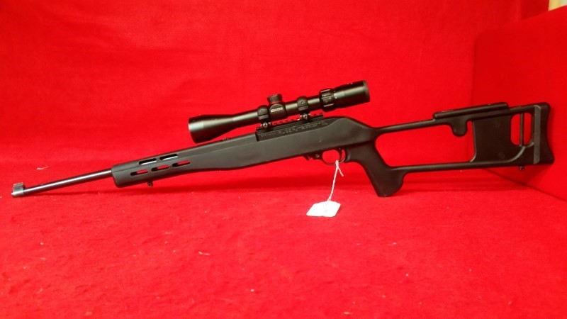 Ruger 10/22 22lr Semi-Auto Rifle - Skeleton Stock - Simmons Scope
