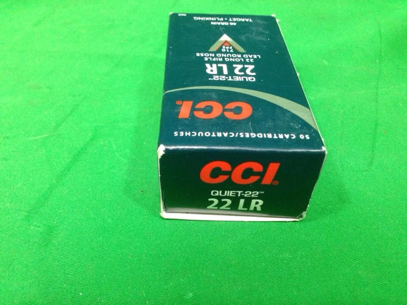CCI® Quiet .22 LR 40-Grain Rimfire 50rds