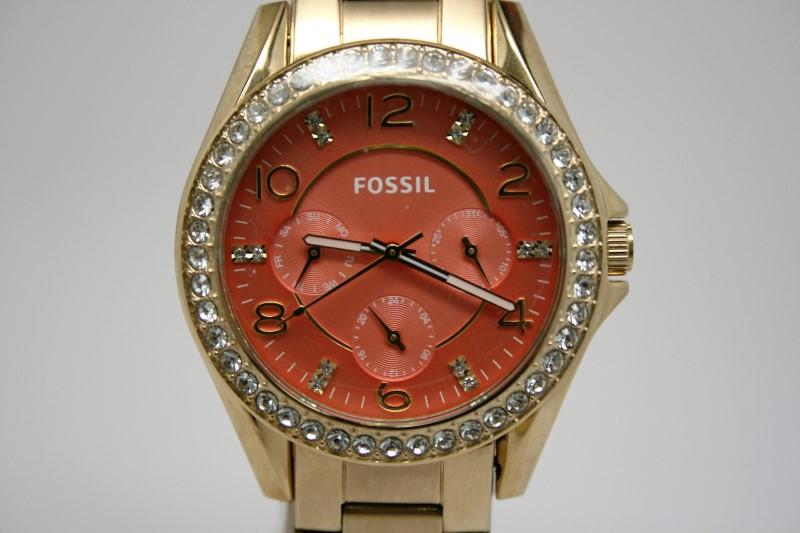LADY'S FOSSIL WATCH   ES3530