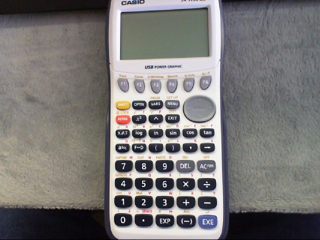 CASIO Calculator FX-9750 GII