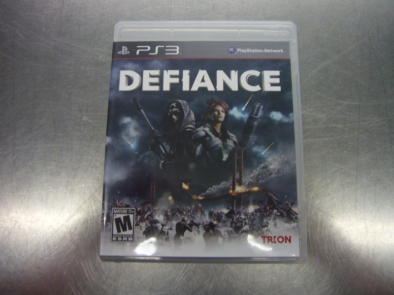 SONY PlayStation 3 Game DEFIANCE