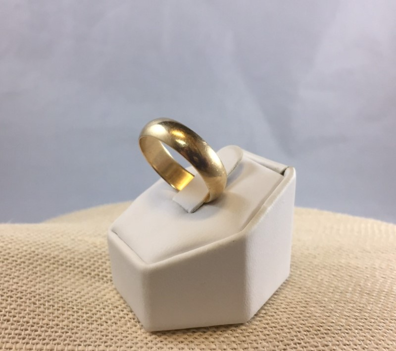 Gent's Gold Ring 10K Yellow Gold 5.32g Size:11.3