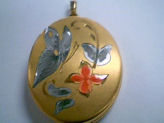 Gold Pendant Yellow Gold Filled 4.5g