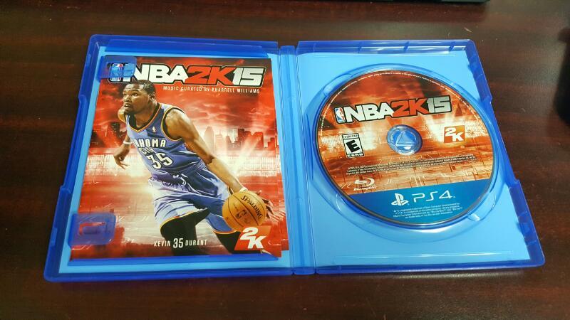 NBA 2K15 (Sony PlayStation 4, 2014) - PS4
