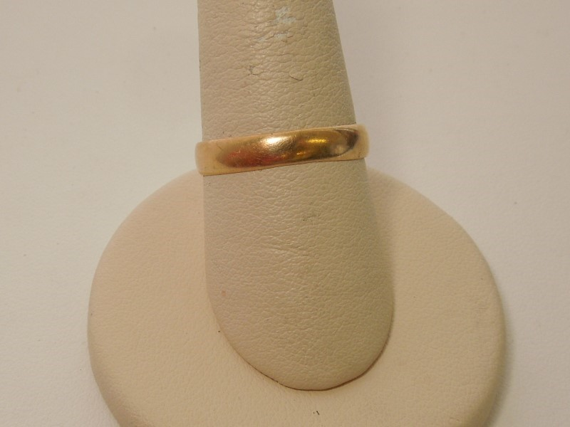 Gent's Gold Ring 14K Yellow Gold 1.6g Size:8.5