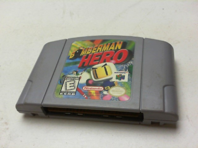 NINTENDO Nintendo 64 Game BOMBERMAN HERO