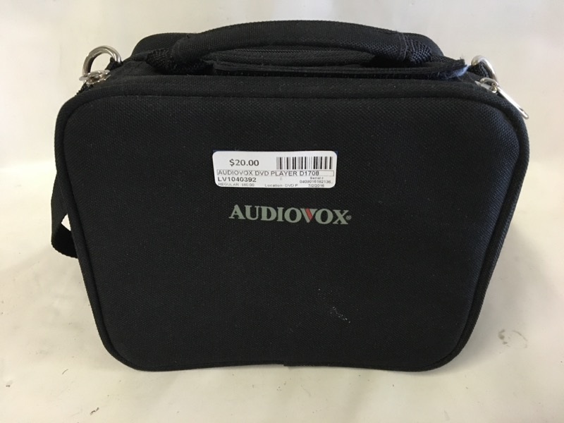 AUDIOVOX Portable DVD Player D1708