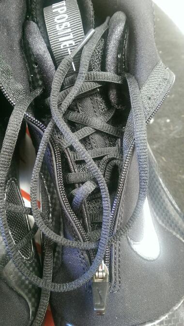 Nike 642307-001 2014 Air Flightposite sz 10 Men's Basketball Shoes | BLK