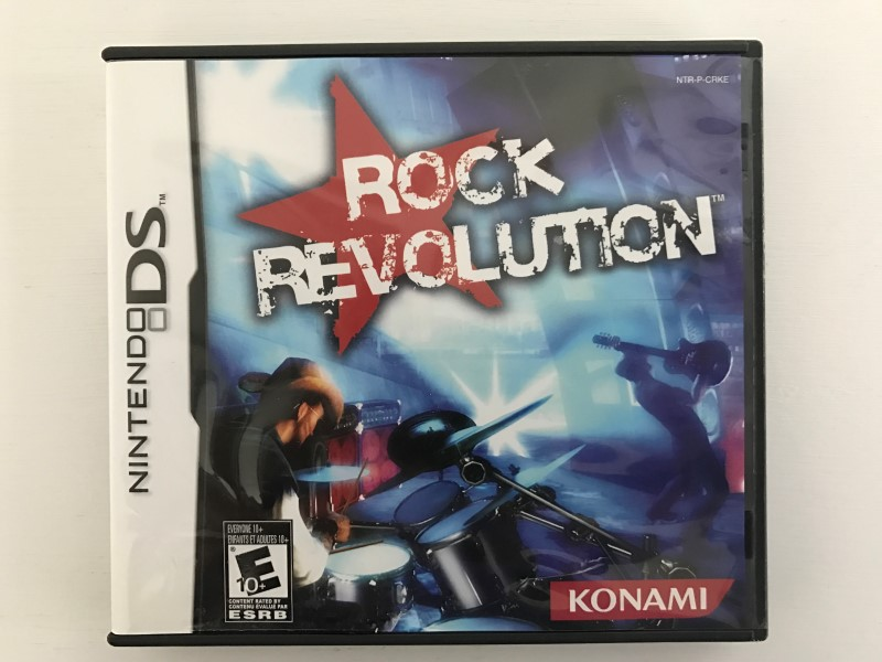 ROCK REVOLUTION NINTENDO DS 2008