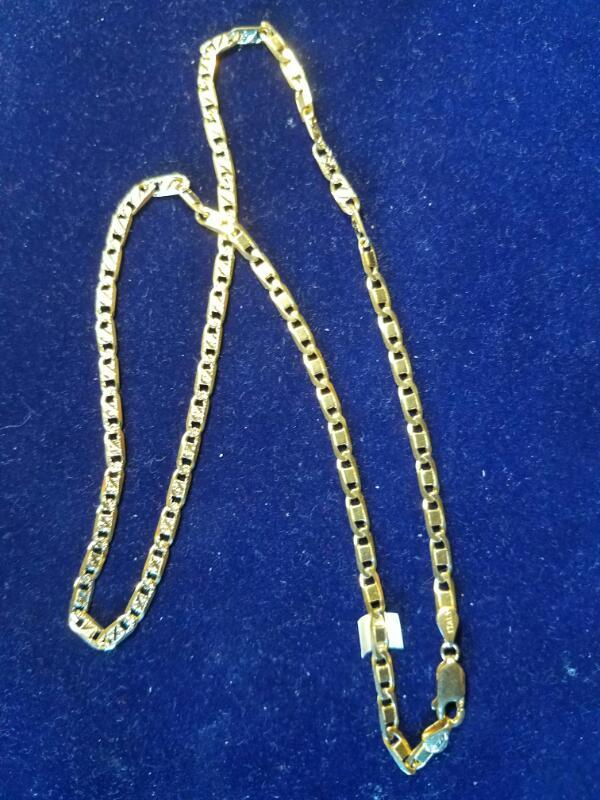 Gold Figaro Chain 14K Yellow Gold 11.6g