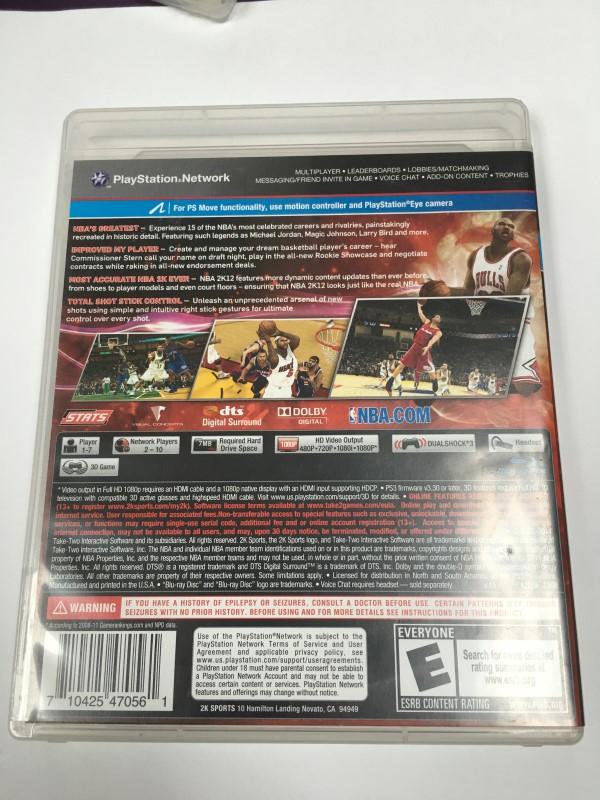 NBA 2K12 (SONY PLAYSTATION 3, 2011)