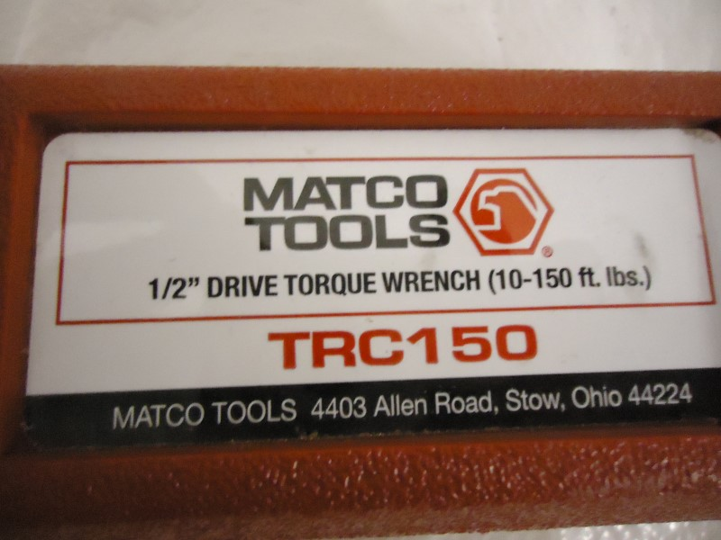 MATCO TOOLS Miscellaneous Tool TRC150