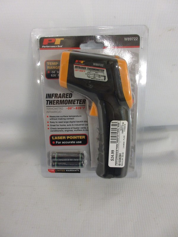 Performance Tool W89722 Infrared Thermometer