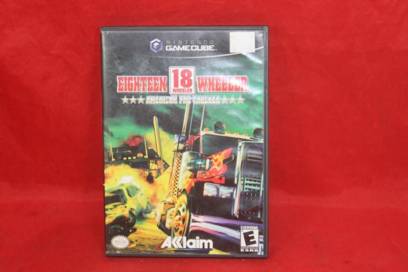 Eighteen 18 Wheeler American Pro Trucker (Nintendo GameCube) Complete