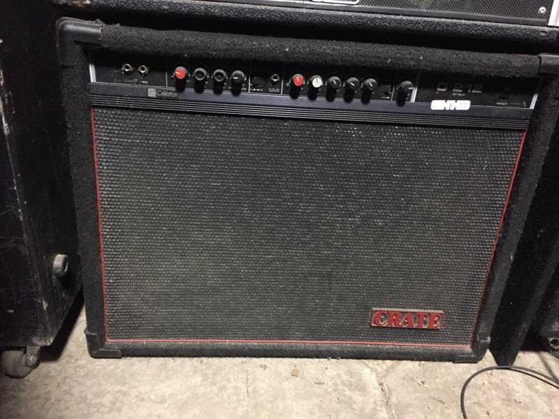 CRATE G212 AMP S/D-02359