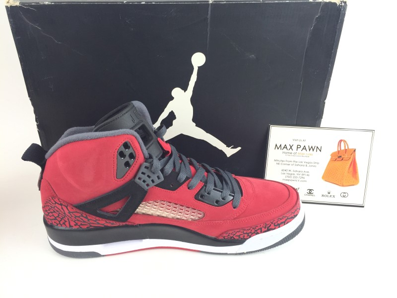 Air Jordan Spiz'ike Gym Red sz 11 2012
