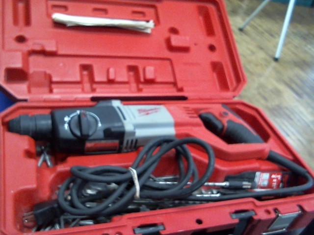 "MILWAUKEE Corded Drill 7/8"" SDS PLUS ROTARY HAMMER"