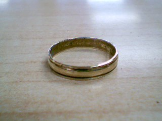 Gent's Gold Ring 10K Yellow Gold 2.1g Size:11