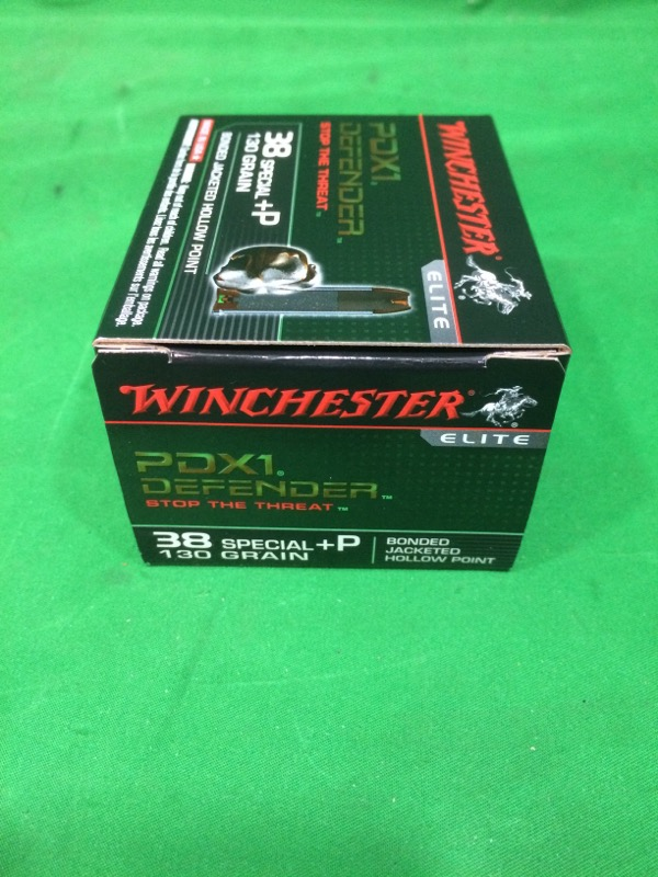 WINCHESTER PDX1 DEFENDER 38SP +P