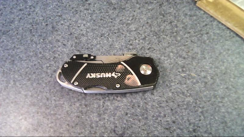 HUSKY Pocket Knife KNIFE AND BOX CUTTER COMBO
