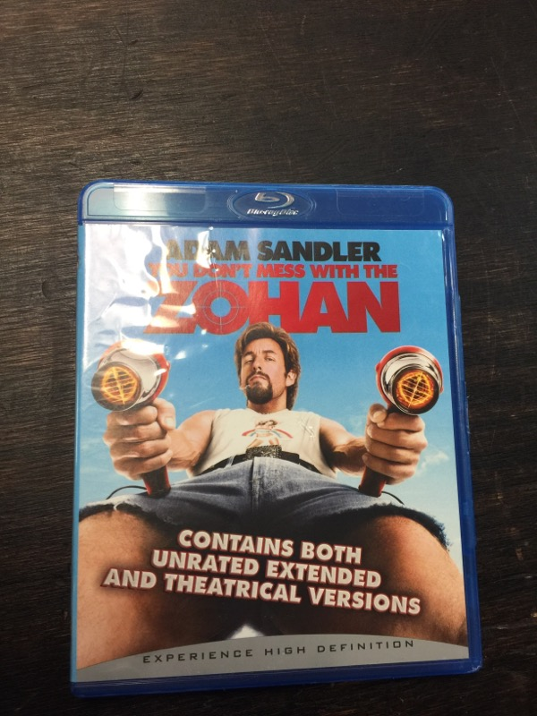 BLU-RAY MOVIE YOU DONT MESS WITH THE ZOHAN