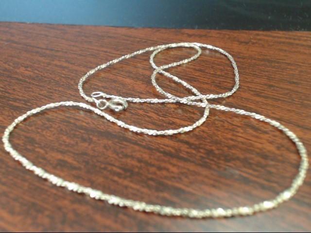 "20"" Silver Chain 925 Silver 4.1g"